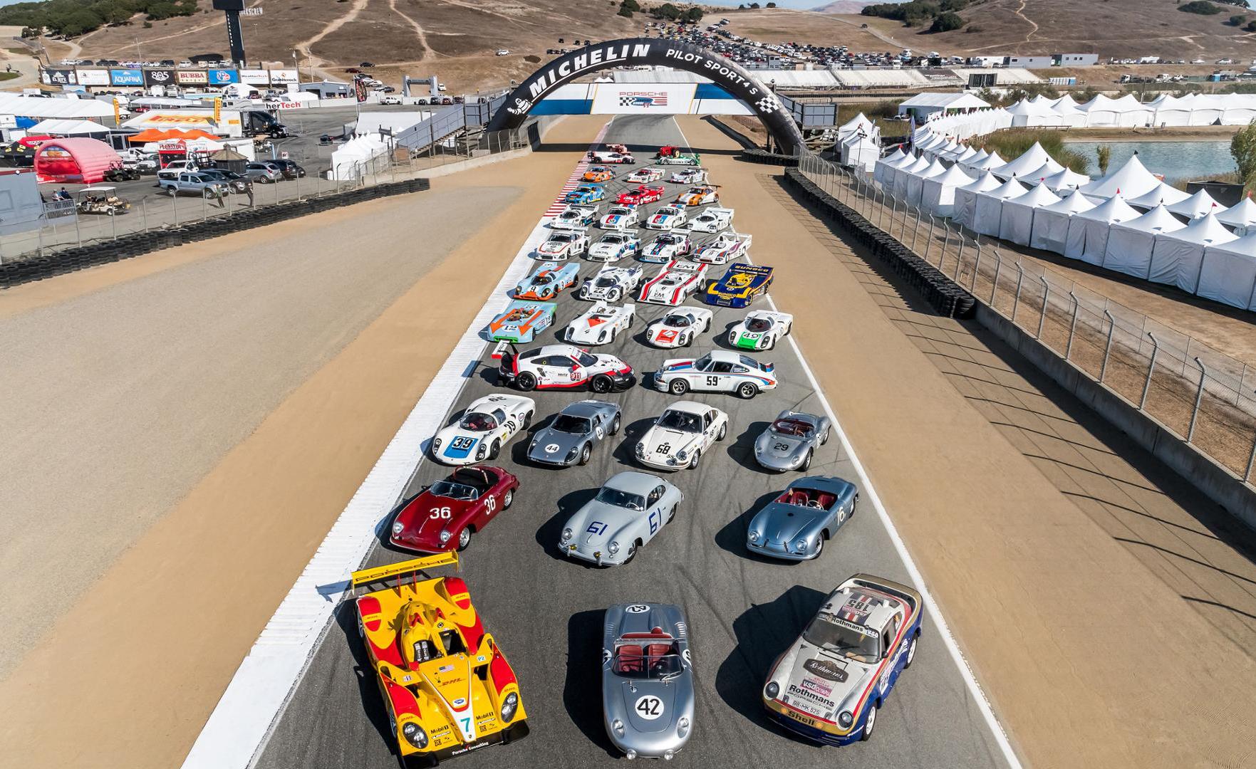 Porsche Rennsport Reunion, Laguna Seca (USA) 2018