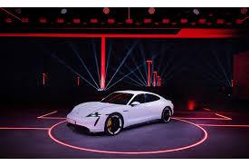Weltpremiere Porsche Taycan – China 2019