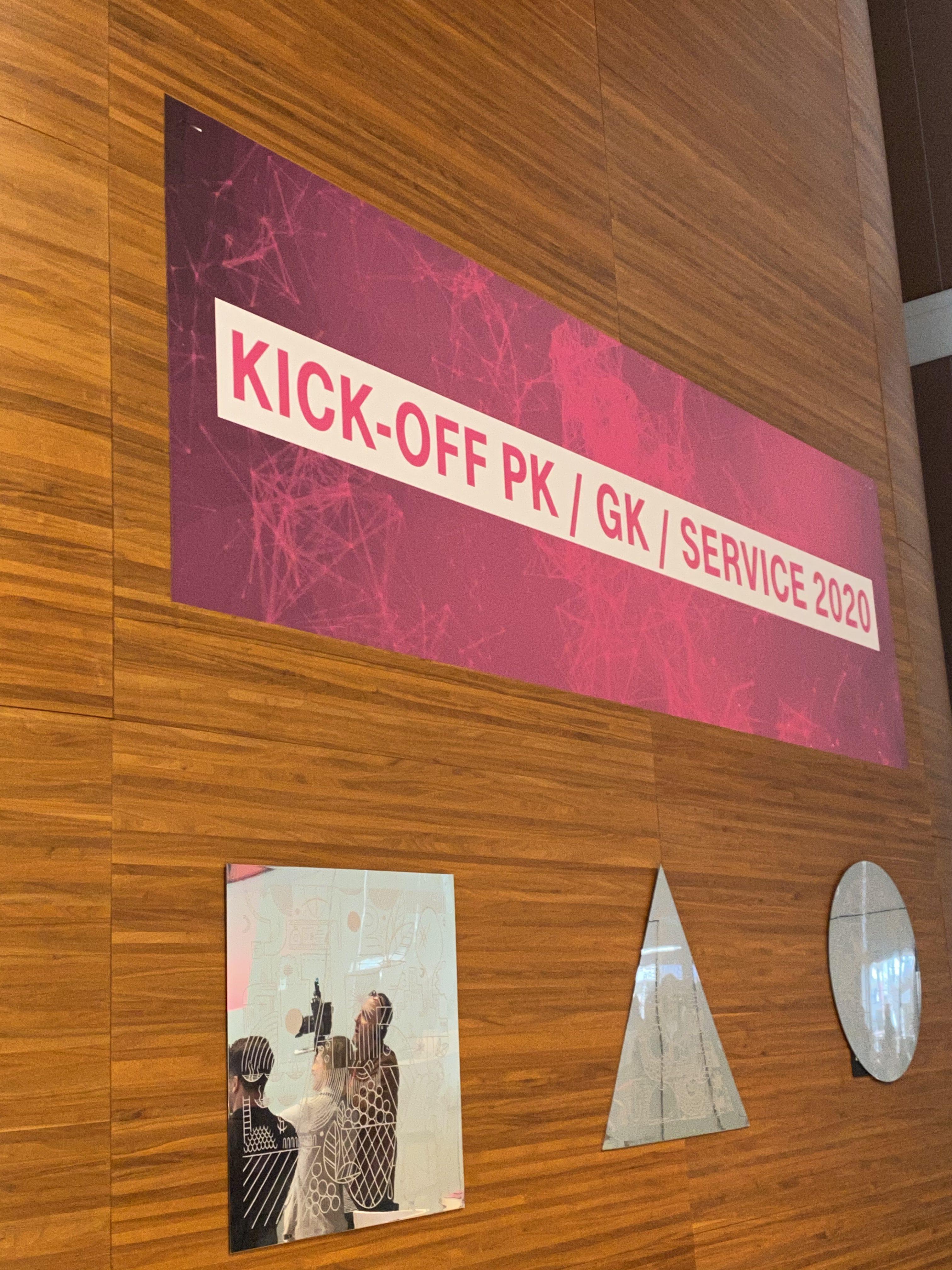 Telekom Kick-Off PK / GK / Service – Bonn 2020