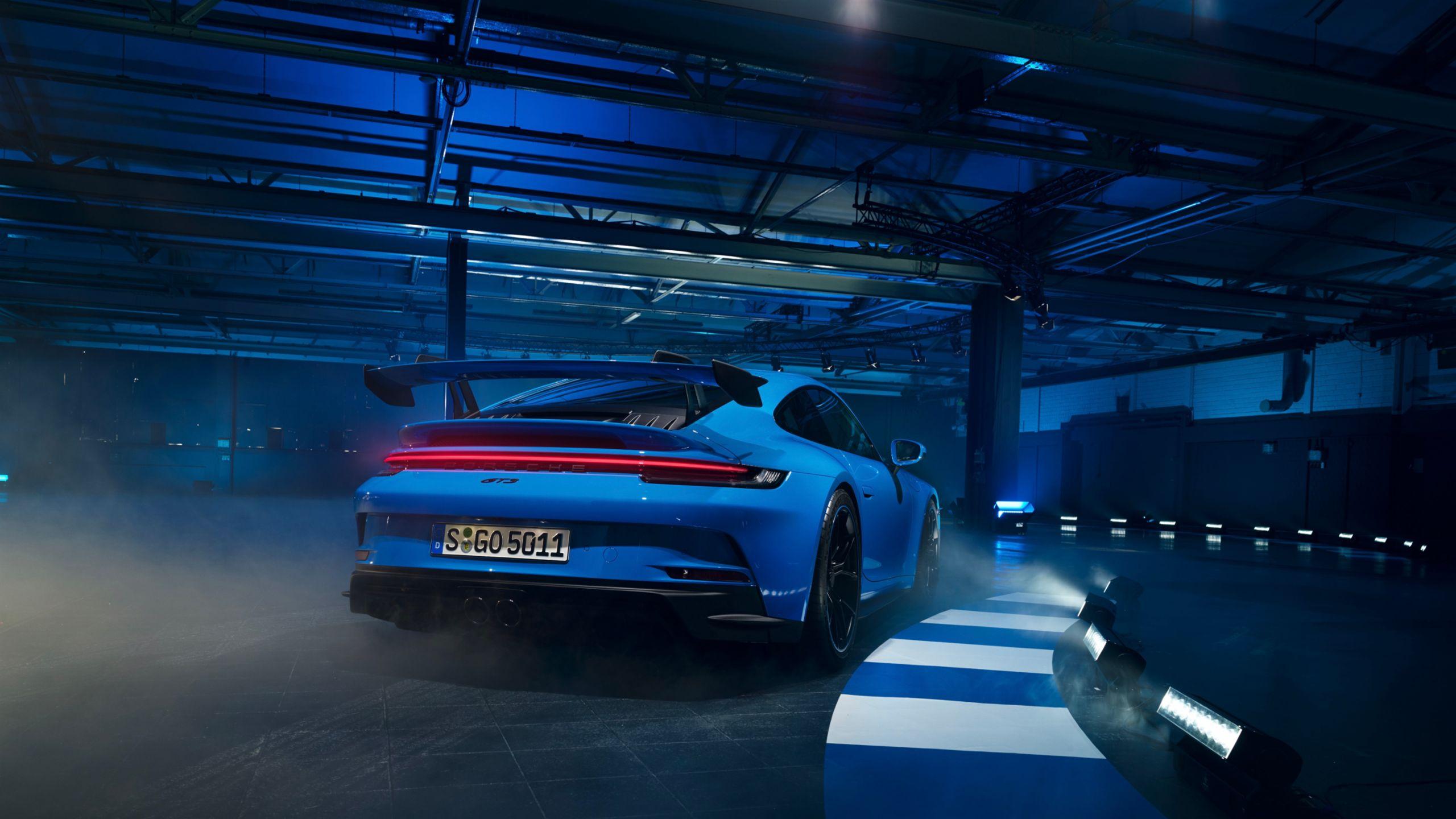 Weltpremiere des neuen Porsche 911 GT3 – Stuttgart 2021